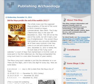 publishing archeology