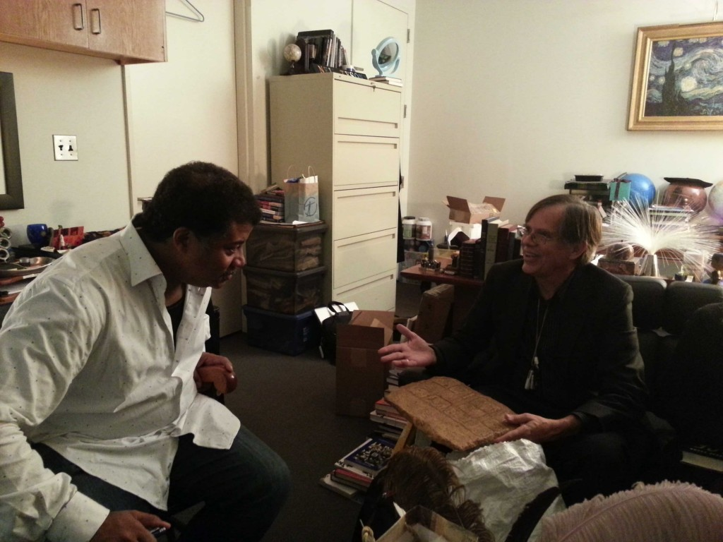 Mark Van Stone with Dr. Neil deGrasse Tyson